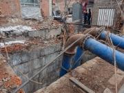 На КП «Харьковводоканал» создан оперативный штаб по ликвидации аварии на канализационном коллекторе по улице Грековской