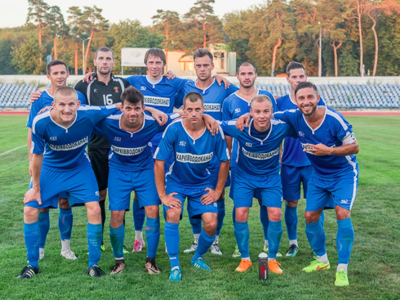 Команда КП «Харьковводоканал» одержала победу над футболистами «Металлист Юниор»