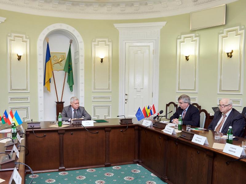 Представители КП «Харьковводоканал» приняли участие во встрече с членами Международного трейд-клуба в Украине