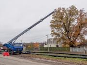 КП «Харьковводоканал» проводит замену водопроводной магистрали по Карачевскому шоссе