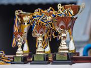 На стадионе «Динамо» наградили победителей чемпионата Харькова по футболу среди аматоров