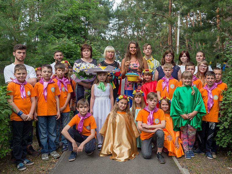 В детском лагере «Ромашка» состоялось открытие оздоровительного сезона