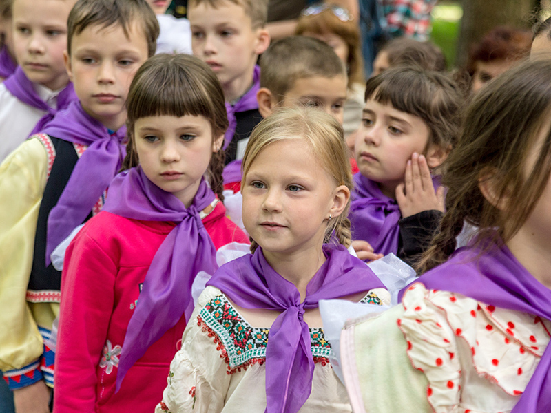 В детском лагере «Факел» состоялось открытие летнего сезона