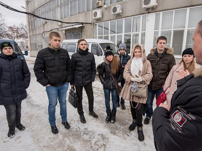 Представили Молодежного совета посетили очистные сооружения №1