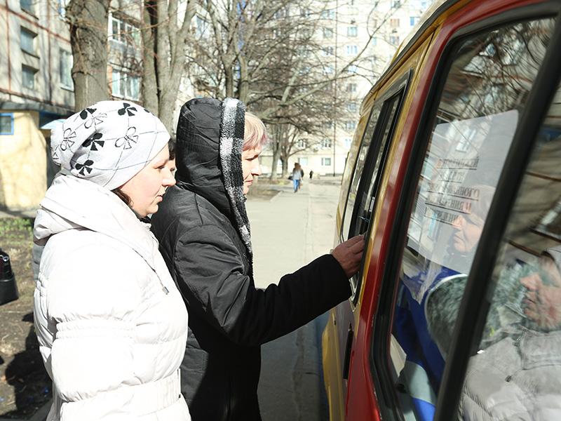 В Харькове работают выездные кассы