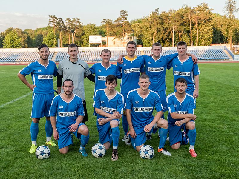 Футбольная команда КП «Харьковводоканал» лидирует в чемпионате города