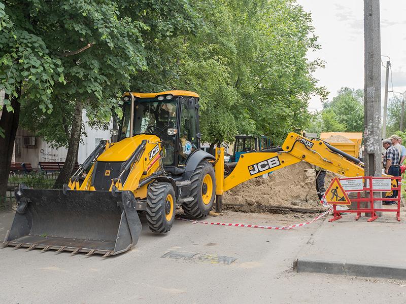 КП «Харьковводоканал» ведет работы на водопроводных сетях