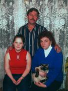 Валерий Сманцер с женой Любовью и дочерью Наташей