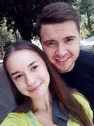 С сестрой Людмилой