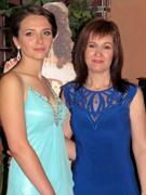 С дочерью Ириной